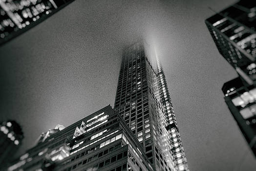 New York City - Fog by Vivienne Gucwa