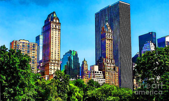 Anne Ferguson - New York City from Central Park