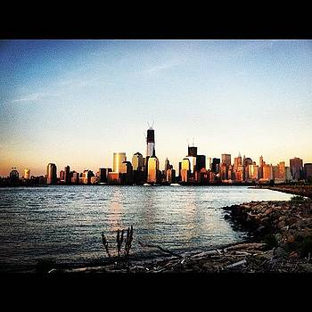 New York City From Liberty State Park by Matthew Tarro
