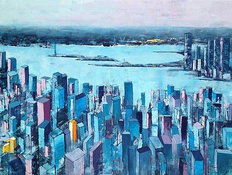 New York City Impression by Beata Belanszky-Demko