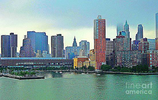 New York City Landscape by Judy Palkimas