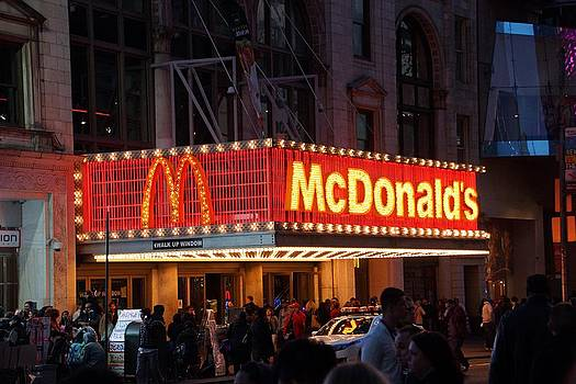New York City Mcdonalds by Thomas Fouch