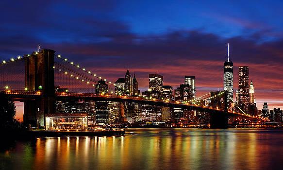 New York city Pano by Eduard Kraft