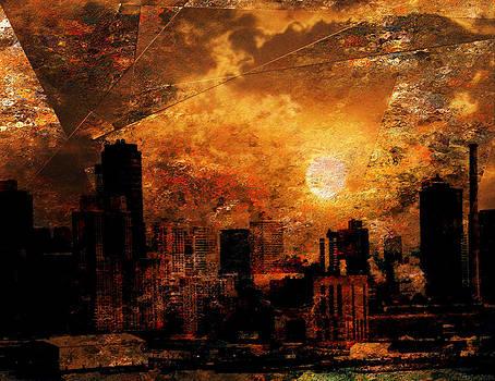 New York City Sunrise by Bruce Rolff