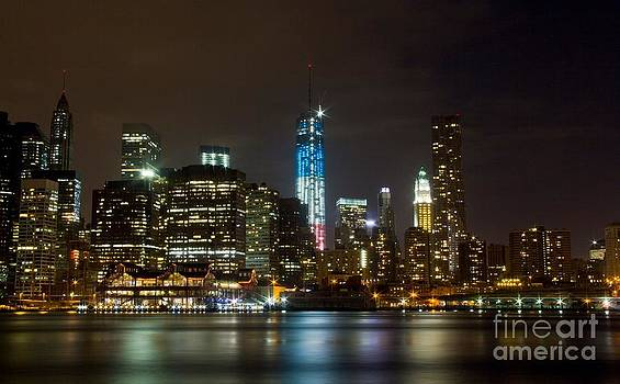 New York Cityscape by Kim Quintano