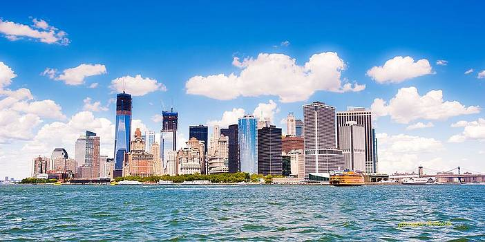 New York Downtown Manhattan by Jorge Guerzon