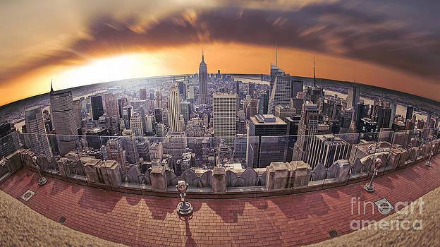New York Eye - Lower Manhattan by Marshall Bishop