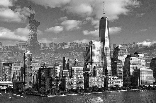 New York Freedom by Patricia Bolgosano