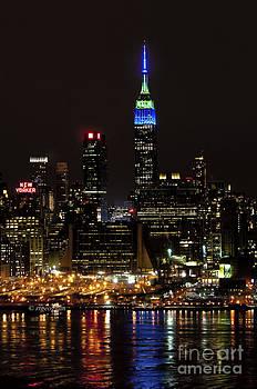 Regina Geoghan - New York Honors Seattle Seahawks