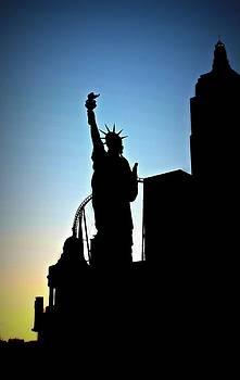 New York New York Hotel Casino by Nicole  Lambert