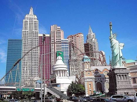 New York New York Las Vegas by Malachi S