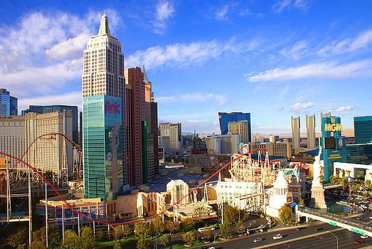 New York New York Las Vegas Nevada by Broderick Delaney