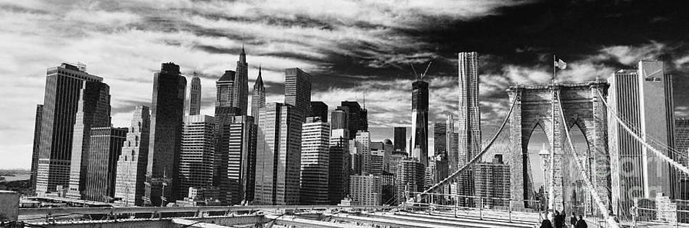 Chuck Kuhn - New York Pano BW I