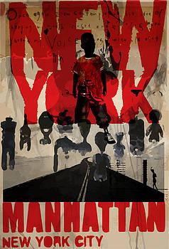 New york poster by Tolga Ozcelik
