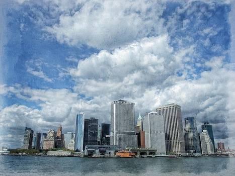 New York skyline by Esther Branderhorst