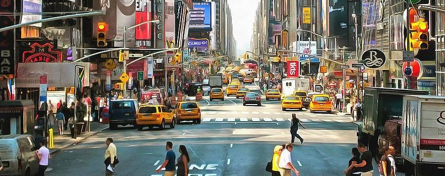 New York streets by Mick Flynn