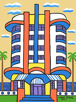 New Yorker Hotel-Miami Beach by Mike Segal