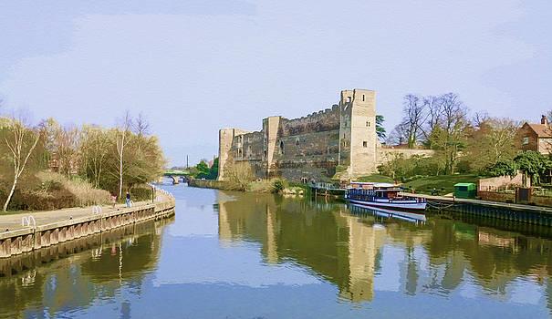 Newark Castle UK by Gillian Dernie