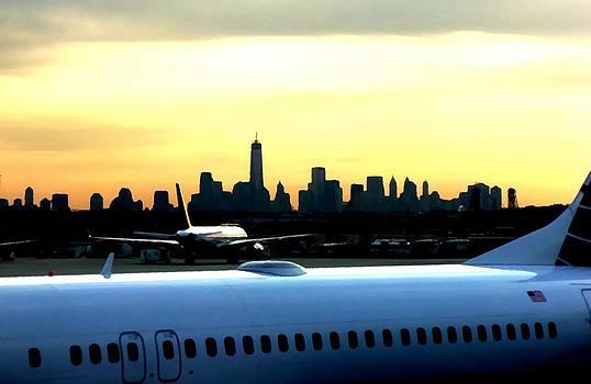 Marcello Cicchini - Newark-Manhattan straight line