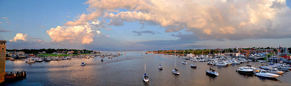 Newburyport Harbor 2010 by John Brown