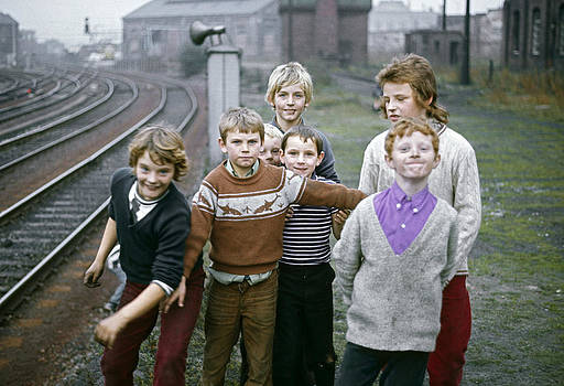Newcastle Lads UK 1975 by David Davies