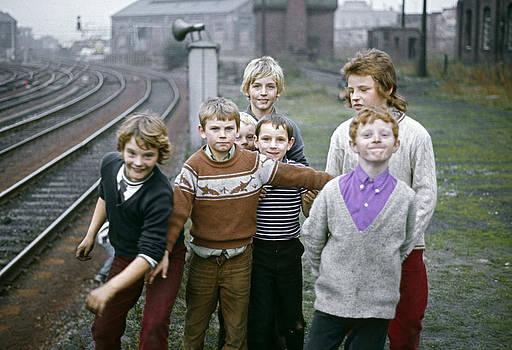 Newcastle Lads UK 1975 by David Davies