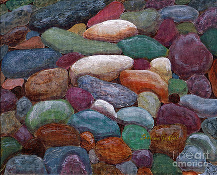 Barbara Griffin - Newfoundland Beach Rocks