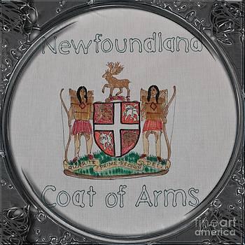 Barbara Griffin - Newfoundland Coat of Arms - Porthole Vignette