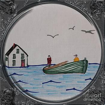 Barbara Griffin - Newfoundland Resettlement - Porthole Vignette