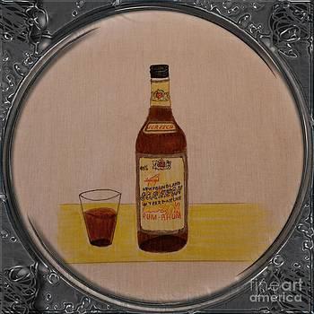 Barbara Griffin - Newfoundland Screech Rum - Porthole Vignette