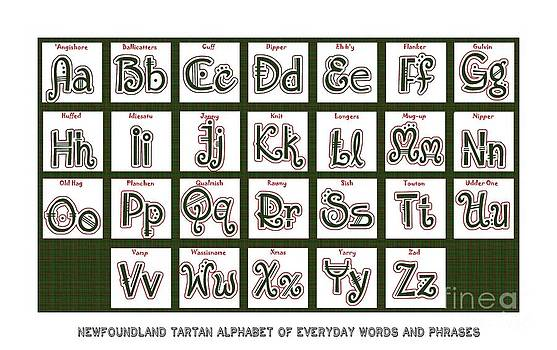 Barbara Griffin - Newfoundland Tartan Alphabet of Everyday Words and Phrases