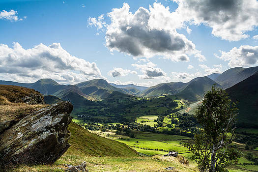 Newlands Valley View by Stuart Gennery
