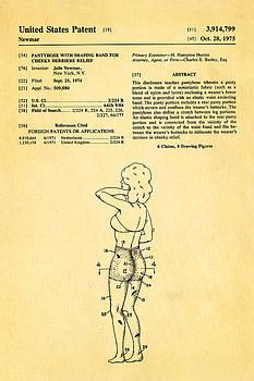 Ian Monk - Newmar Pantyhose Patent Art 1975