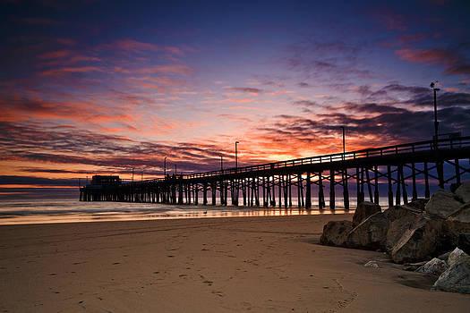 Newport Beach Pier by Micah Dimitriadis