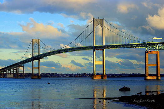 Newport Bridge by Lisa Jayne Konopka