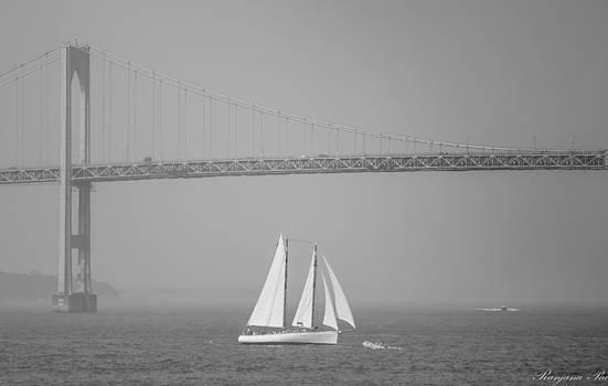 Newport Bridge by Ranjana Pai
