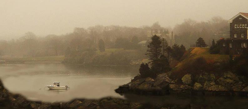 Newport Fog by Deborah Jahier