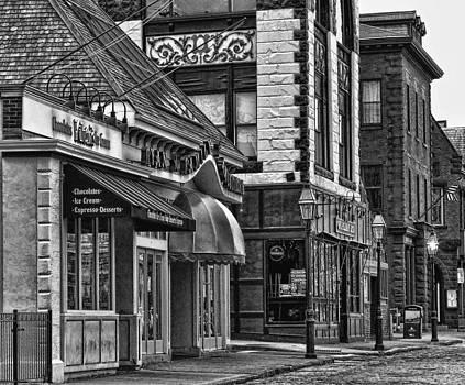 Newport in Monochrome by Nancy De Flon
