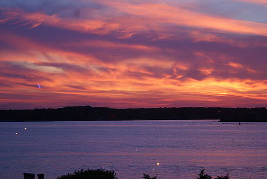 Newport Sky at Sunset by Paul Lavoie