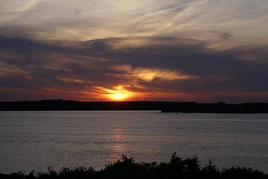 Newport Sunset  by Paul Lavoie