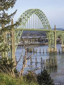 Newports Yaquina Bay Bridge by Kristal Talbot