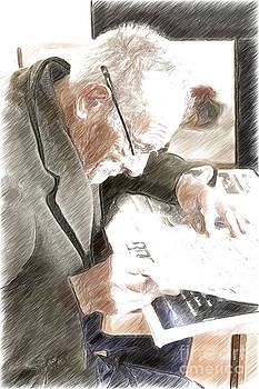 Heiko Koehrer-Wagner - Newspaper Reading