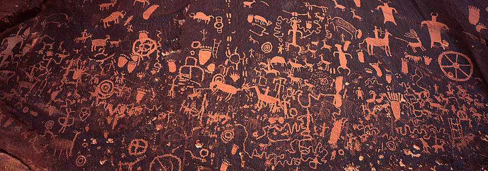 Newspaper Rock by Tony Santo