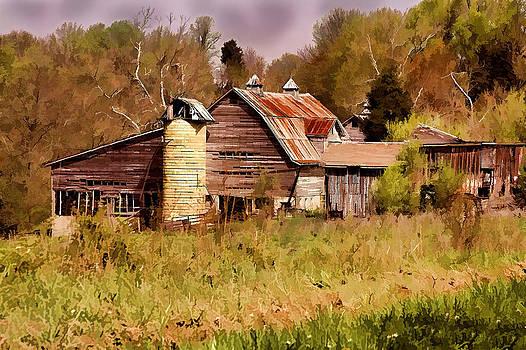 Newton Township Barn by David Yocum