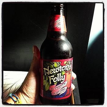 Newton's Folly Authentic Draft Cider by Deirdre Ryan