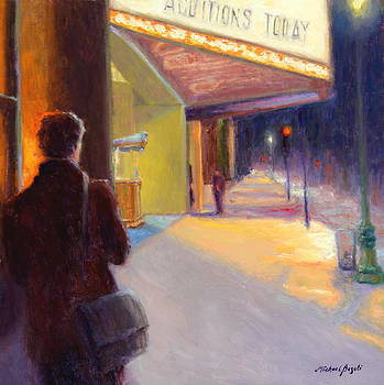 Next Audition NoHo Playhouse District by Michael Besoli