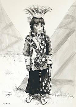Art By - Ti   Tolpo Bader - Nez Perce Prince