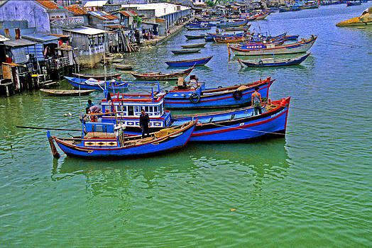 Nha Trang - Vietnam Fishing Boats by Rich Walter
