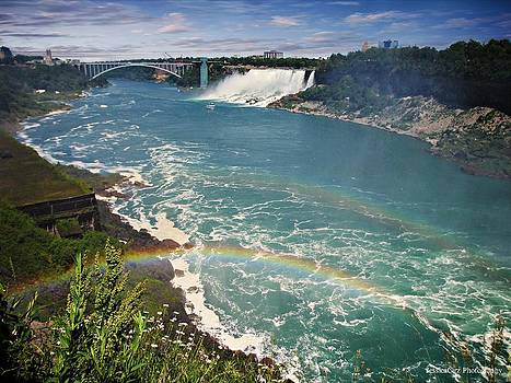 Niagara Falls Double Rainbow by Jessica Cirz