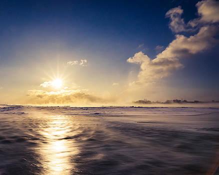 Chris Bordeleau - Niagara Winter Sunrise
